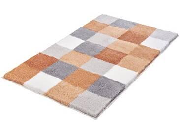 Kleine Wolke Textilgesellschaft 5426414453 Tapis de Bain Polyacrylique, Saumon, 85 x 150 x 2,5 cm