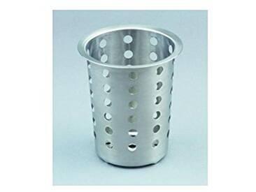 IBILI 714000 Egouttoir à Couverts Metal, Argent, 11,5 x 11,5 x 13,2 cm