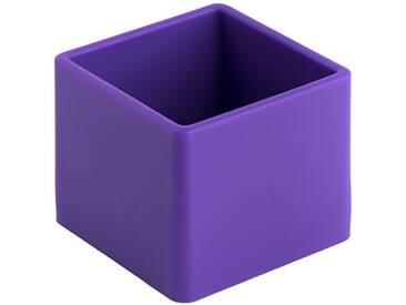 Geelli GFU-CUB-C40 Fusto Cubo Polyurethane, Violet, 10x10x8 cm