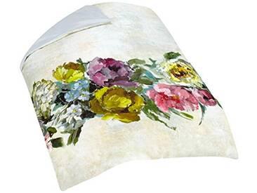 Designers Guild - Ghirlanda Housse de Couette Satin de Coton Écru 140 x 200 cm