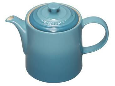 Le Creuset Théière en céramique avec infuseur inox 1,3L bleu caraïbes