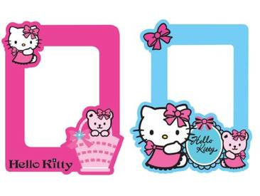 Decofun Cadres Photos Hello Kitty (X2)
