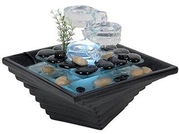 Sunchine SCFV16 Himalaya Fontaine d'Intérieur Noir 23 x 23 x 20 cm
