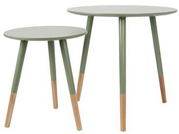 Leitmotiv LM1269 Table MDF/Bambou, Vert, Taille M/47, 5 x 48 cm/40 x 33,5cm