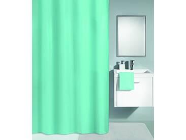 Kleine Wolke Textilgesellschaft Rideau de Douche, Fibres Synthétiques, Vert, 200x180 cm