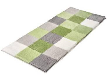 Kleine Wolke Textilgesellschaft 5426617534 Tapis de Bain Polyacrylique, Vert Pâle, 50 x 120 x 2,5 cm