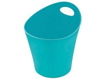 koziol pot à découpe 3l Potichelli L, thermoplastique, turquoise, 21 x 19 x 23 cm