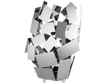 Alessi MT10la pièce du scirocco au crépuscule Lampe inoxydable 18/10, acier argent