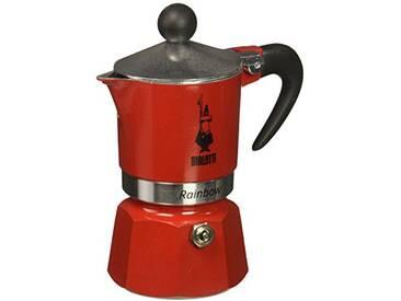 Bialetti 4961 Machine à Expresso pour Tasse, Aluminium, Rouge, 30 x 20 x 15 cm