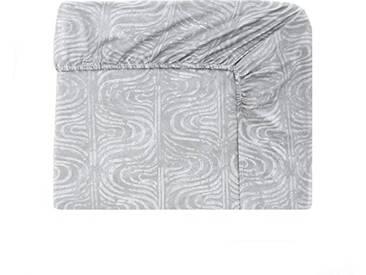 Designers Guild - Cassandra Drap Housse Satin de Coton Rose 160 x 200 cm