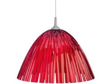 Koziol 1950509 Reed Lampe de plafond rouge