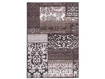 andiamo 1100412 Classique, Ornament Tapis à Motifs Vintage, 80 x 150 cm, 100% Polyamide Taupe