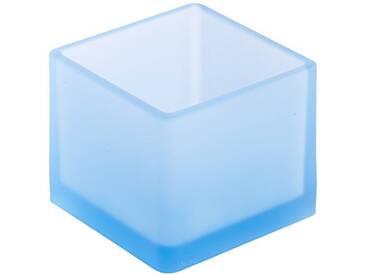 Geelli GFU-CUB-011 Fusto Cubo Polyurethane, Light Blue, 10x10x8 cm