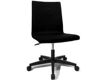 Topstar EA100L50 Cube Chaise de Bureau Noir 43 x 51 x 98 cm