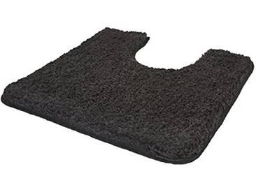 Kleine Wolke Textilgesellschaft 4035905129 Trend Tapis de Bain Anthracite 65 x 55 x 0,35 cm