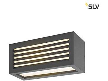 SLV Box_L Applique murale d'extérieur à LED en aluminium et aluminium Anthracite IP44 3000 K 19 W