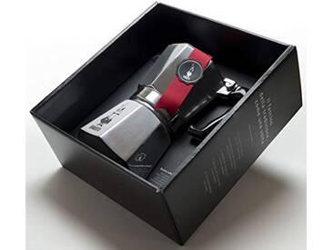 Bialetti 4663Cafetière Espresso 6Tasses, Aluminium, Argent, 30x 20x 15cm
