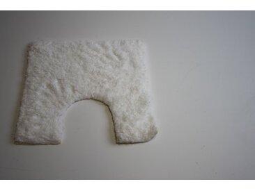 William Armes Dandy Seychelles Tapis contour WC Blanc 50 x 50 cm
