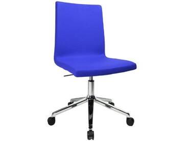 Topstar SEA290L56 Sitness Cube Chaise de Bureau avec roulettes Bleu 46 x 51 x 95 cm
