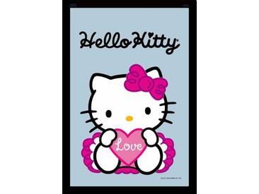 Empire Merchandising 537997 Miroir imprimé avec Cadre en Plastique façon Bois Hello Kitty Love 20 x 30 cm